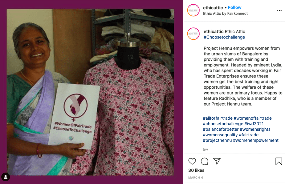 Project Hennu- an initiative by Ethic Attic. Image from Instagram