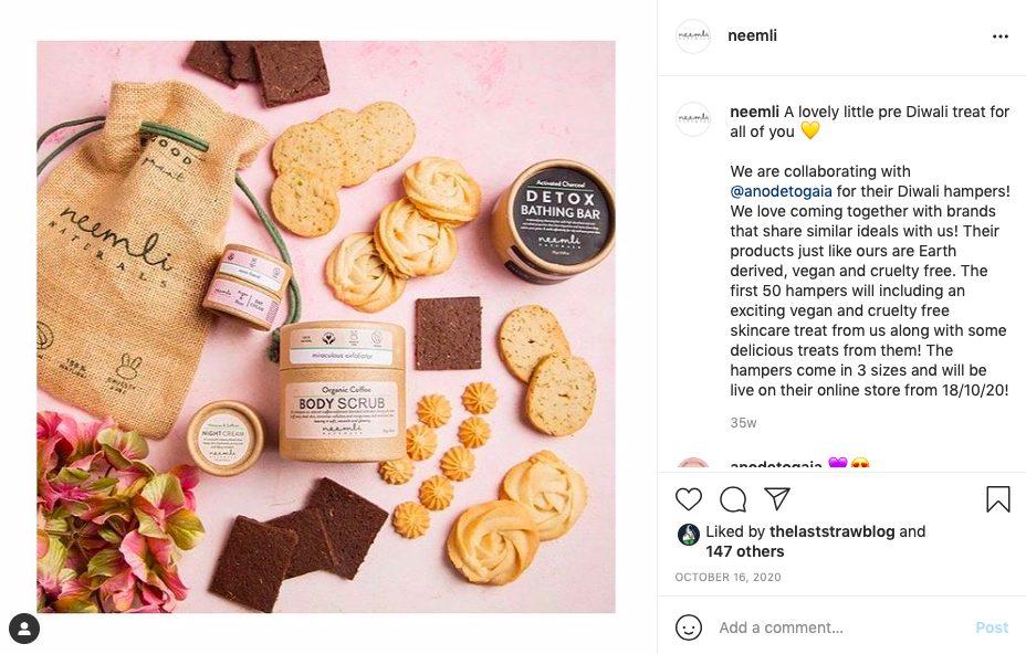 Neemli naturals: Indian conscious skincare brand