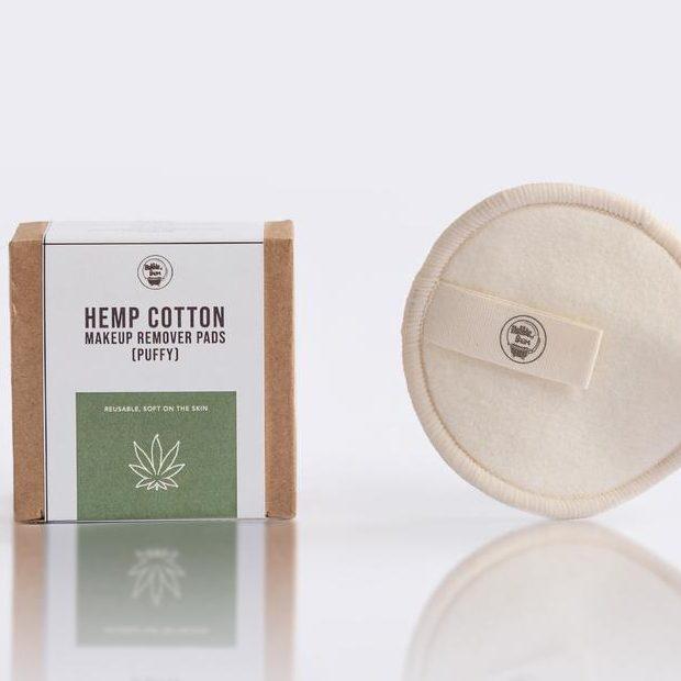 Hemp cotton pads by BubbleFarm