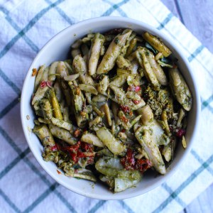 Cilantro Pesto Penne | Fresh n' Lean Meal Delivery | Conscious Chris