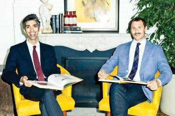 Sir Kensington's Co-founders Mark Ramadan (left) and Scott Norton created an upcycled supply chain