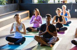 Asana holds daily yoga classes