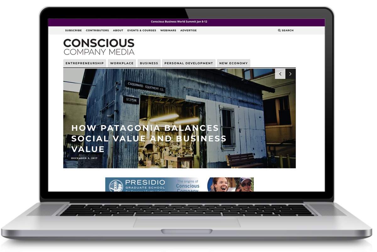 Conscious Company Media Website