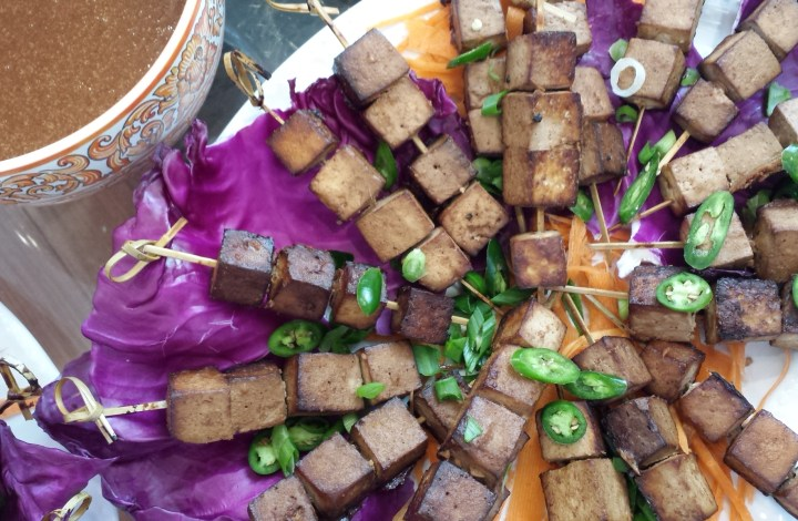 Tofu Satay Skewers – Fun Food for Celebration!