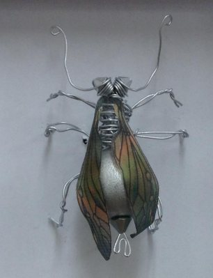 Copper Silk Bee