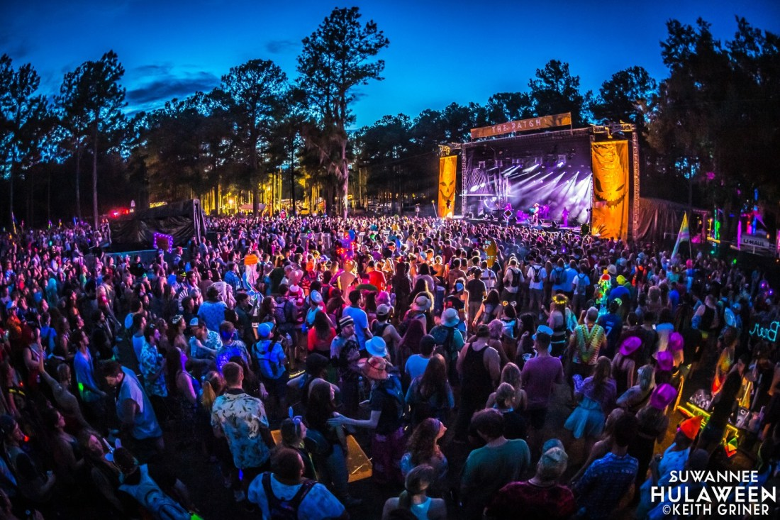 STS9 deliver Thursday pre-party set - The Patch - Suwannee Hulaween
