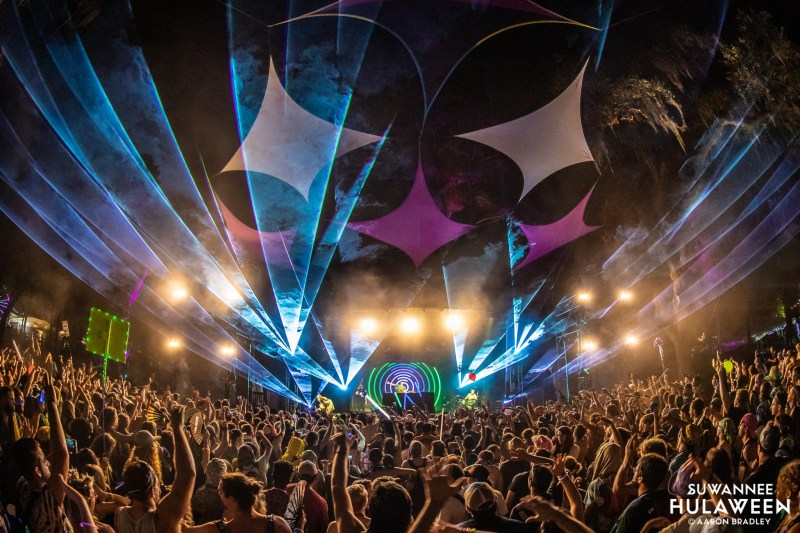 The Amphitheater stage - Suwannee Hulaween