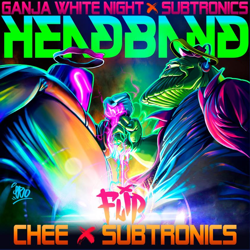 Chee x Subtronics - Headband flip - cover art