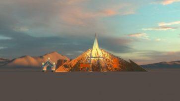 Burning Man 2020 Temple