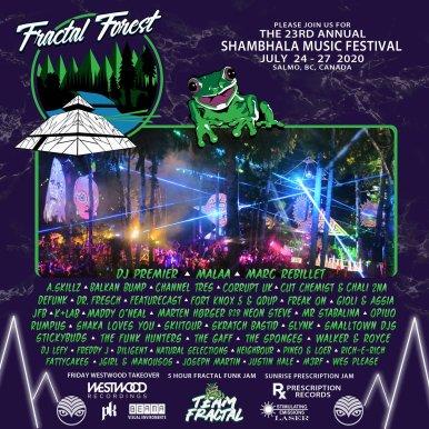Fractal Forest - Shambhala 2020