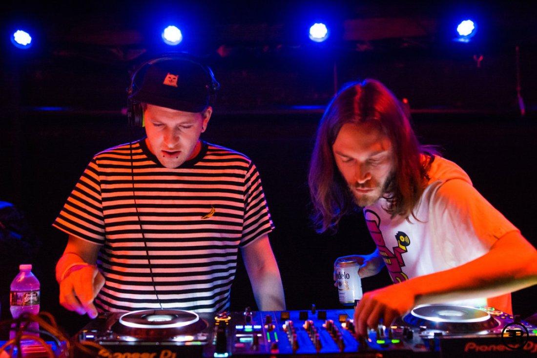 Kursa and Seppa play Slugwife pop-up show at The Rust Music