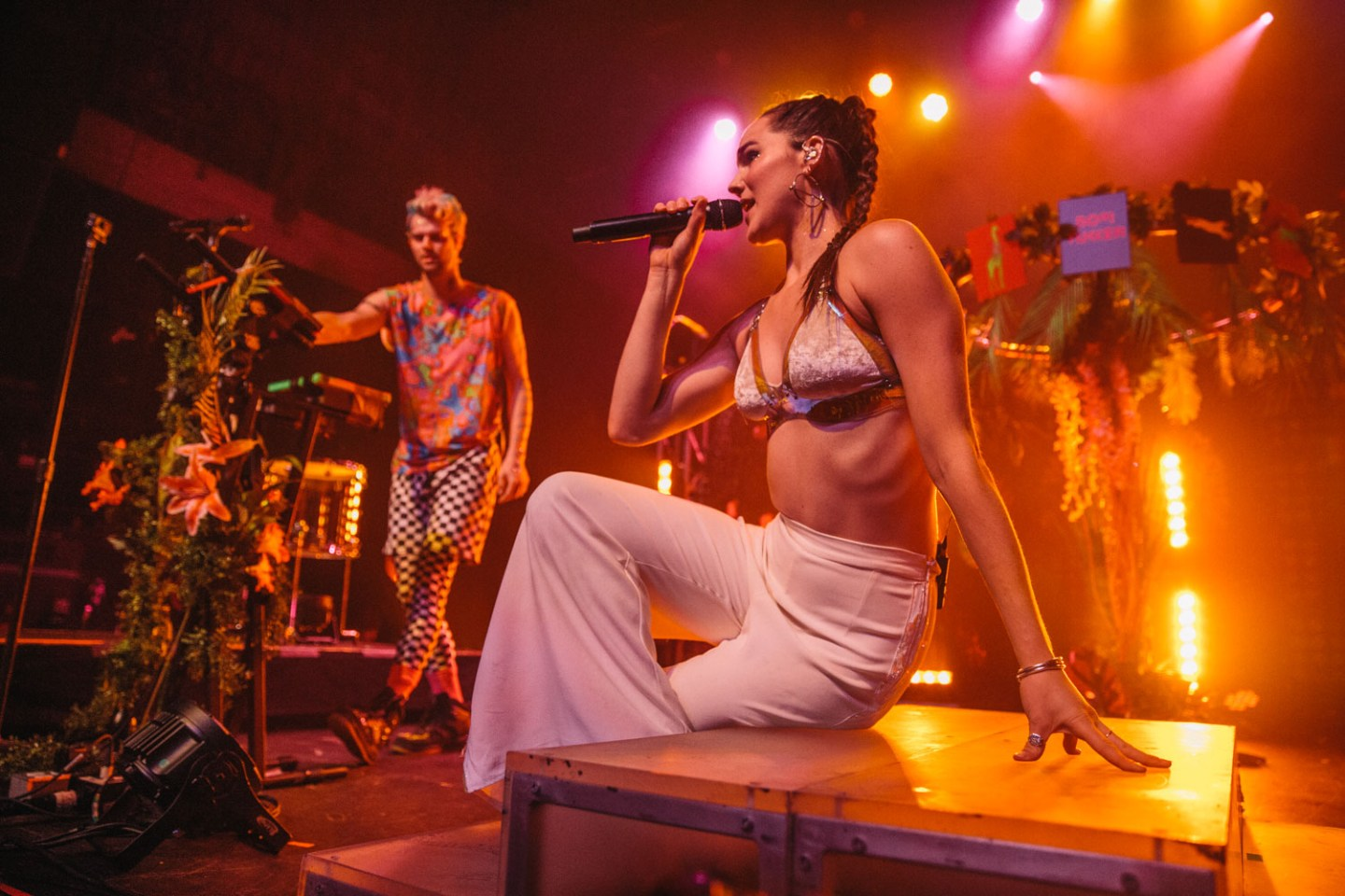 Sofi Tukker @ The Fonda Theatre, Hollywood - 05/16/2018