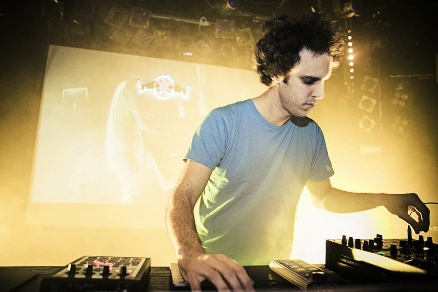 Four Tet performs during the Red Bull Music Academy Bass Camp in Vienna, Austria