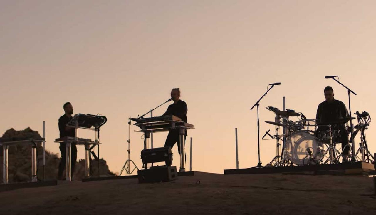 RUFUS DU SOL live from Joshua Tree