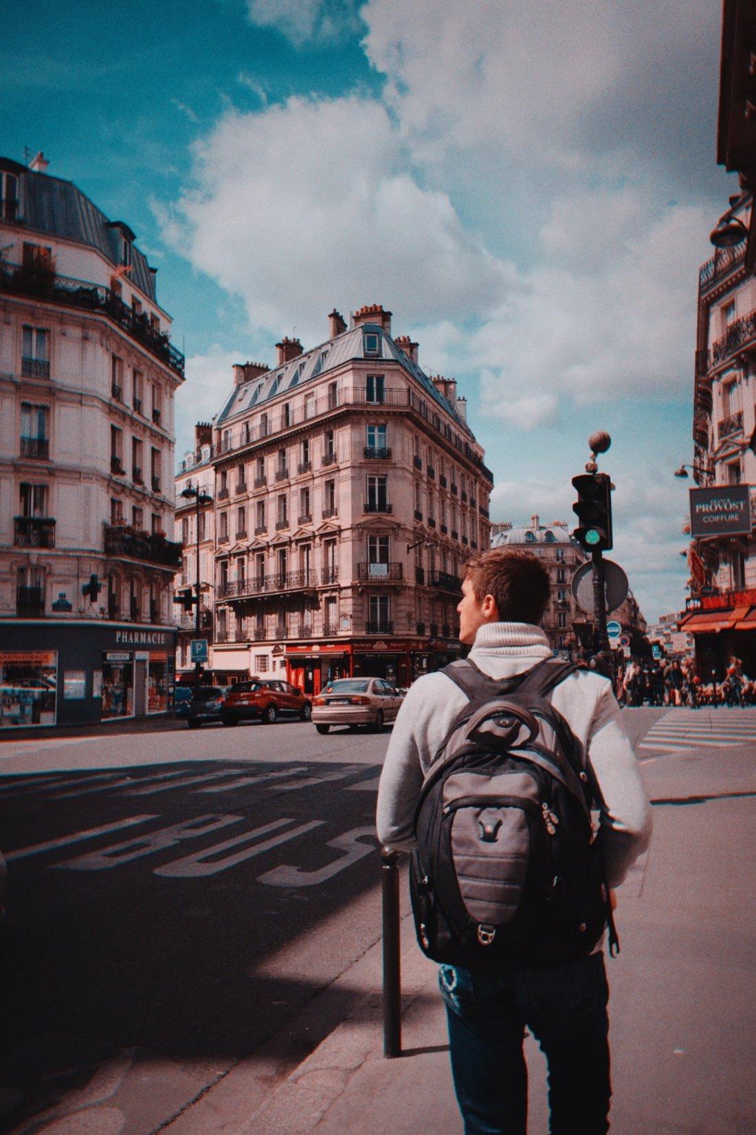 Ryan Chadwick walks Le Bouquet du Nord, Paris - one of OTR's favorite places