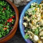 Raw Cauliflower & Tahini Salad – Trinity's Kitchen