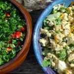 Raw Cauliflower & Tahini Salad – Trinity's Kitchen