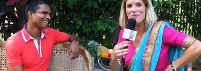 Breatharian Kirby De Lanerolle Interviewed by Lilou Mace in Sri Lanka