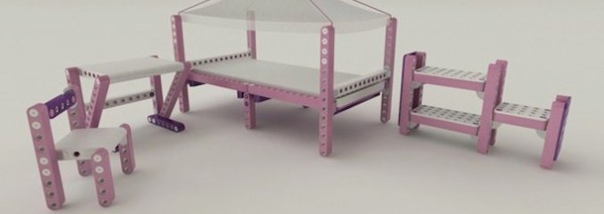Creative Construction: Kids Furniture They Make for Themselves