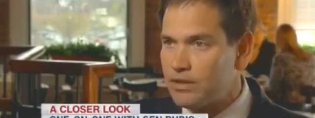 Marco Rubio: Climate Change Is Not Man-Made