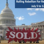 Join the Rolling Rebellion for Democracy, July 5 to 12