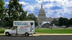 The 'WikiLeaks Mobile Information Collection Unit' created by artist and activist Clark Stoeckley (cc/flickr).