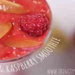 Plum & Raspberry Smoothie