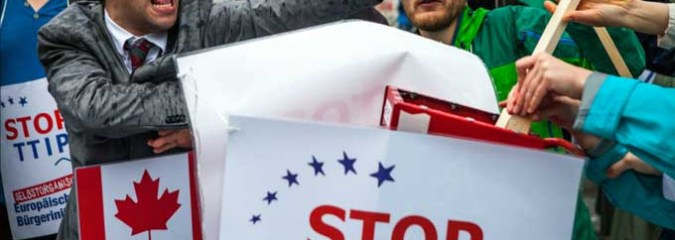 More Corporate Power Grabs: Make Your Voice Heard on TTIP & CETA