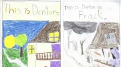 Picture by Ethan, Age 11. (Image via frackfreedenton.com)