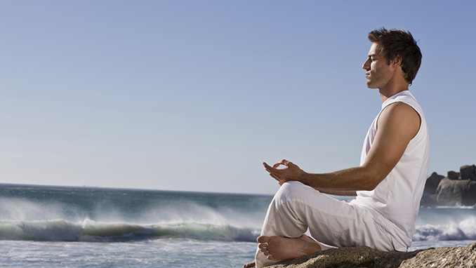 meditate man