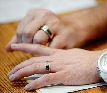 montana gay couple rings
