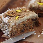 Gluten free, Vegan, No-bake Carrot Cake – Yes! (With Video)