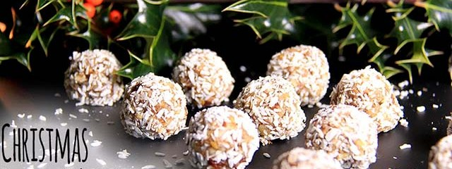 Christmas Fruit N' Nut Truffles (Dairy-Free, Gluten-Free, No Refined Sugar)