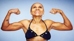 """""""Bodybuilder Ernestine Shepherd, 78, attributes her youthful looks to diet and exercise. But scientists now say they will soon be able to do much more with drugs"""""""