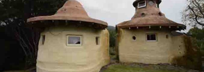 Man Builds 2 Earth Dome Cabins for Less than $10,000 (Pictures)