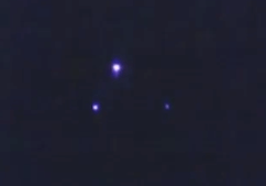 Similar to the lights Kimberly witnessed (photo is from UFOsightingsdaily.com)