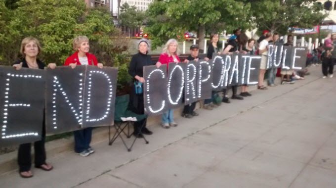 Rolling Rebellion fr Real Democracy in Ohio: End Corporate Rule