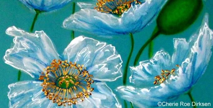 White Poppies by Cherie Roe Dirksen