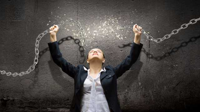 Image result for picture of woman breaking chains