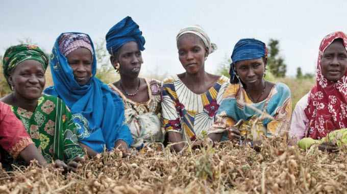 """""""Control over seeds must remain in peasants' hands,"""" said Guy Kastler with La Via Campesina. (Photo: Tineke d'Haese/ Oxfam)"""