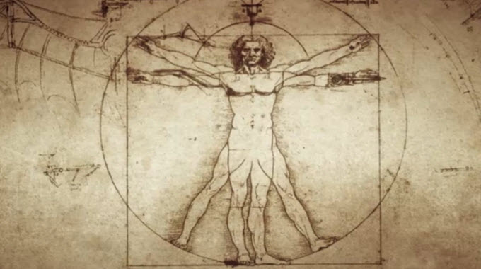 Davinci-Human-Sketch