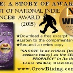 """Bigfoot, Bermuda Triangle, Time Travel—2015 National Indie Excellence® Award-winning Novel """"Snooze"""" Has It All"""