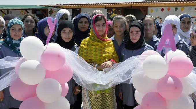 malala opens school