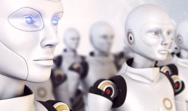 """humanoid robots being trained to say """"no"""""""