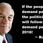 Ron Paul: Let's Demand Peace in 2016!