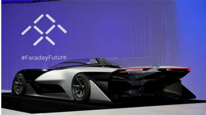 Faraday Future Car GCN