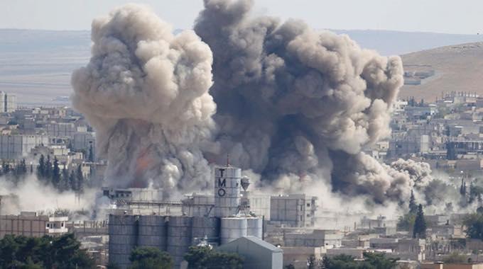 U.S. bombs middle east