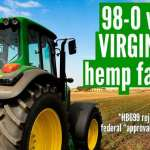 Virginia Votes Unanimously to Legalize Hemp Farming, Nullifying Federal Law