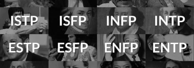 There Are 16 Personality Types:  Which One Are YOU?