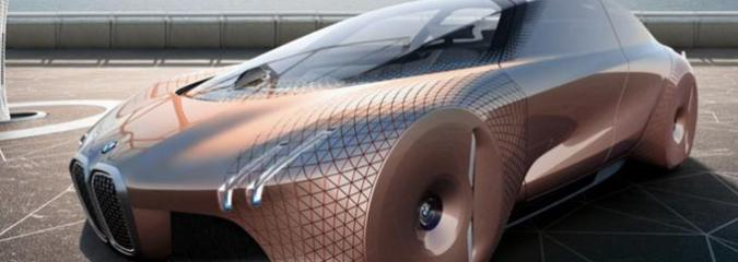 """'Vision' of The Future: BMW Unveils Incredible """"Self Driving"""" Concept Car"""
